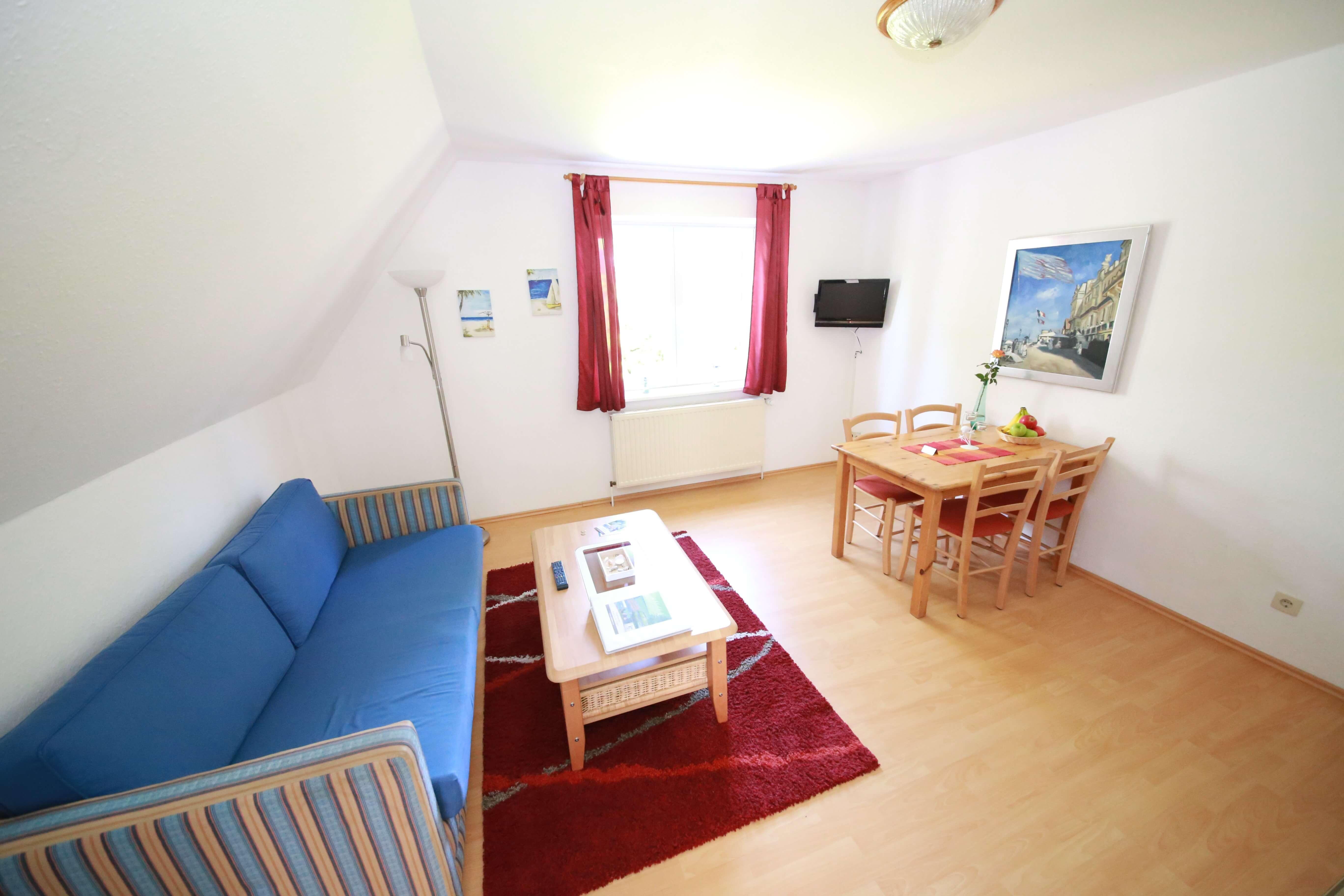 Apartment 5 4 personen apartmenthaus schleiblick for Kochen 4 personen